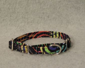 XX Small or X Small Martingale Dog Collar You Pick Size Color Swirls
