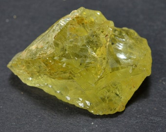 BERYL HELIODOR etched floater crystal gem 15.2 grams #33 - UKRAINE