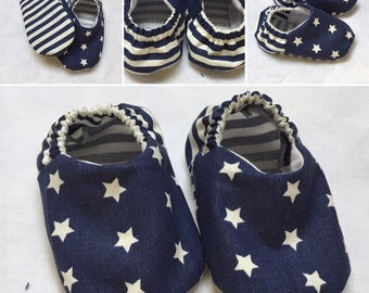 Baby Booties, Baby Gifts, Baby Slippers, Baby Crib Shoes, Baby Moccs, Baby Shoes, Stars Baby Shoes, Baby Slippers, Stars Baby Booties