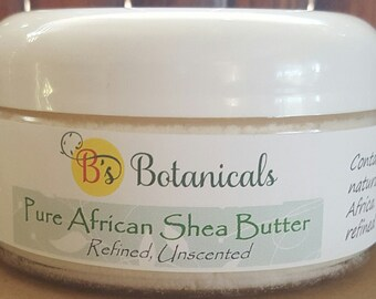 African Shea Butter - rich, organic, unrefined. For men/women/children. After-shave, sunburn, anti-aging, all over skin care.