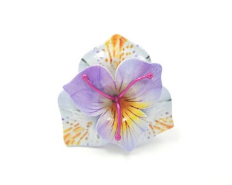 Lilac Flower Ring