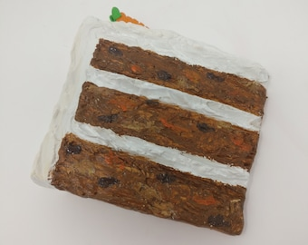 Carrot Cake Fridge Magnet