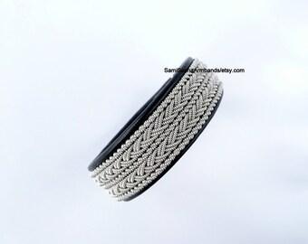 Sami Viking Bracelet for men Swedish Lapland bracelet Saami Viking jewelry for men Nordic bracelet Scandinavian jewelry His and his bracelet