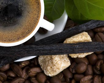 Vanilla Coffee Fresh Hand Dipped Charcoal Incense 20 Sticks Home Fragrance Handmade Gift