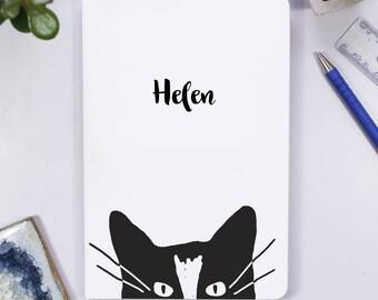 Carnet de notes - carnet chat pour elle - Journal de voyage pour son cadeau d'anniversaire chat - cahier personnalisé - pour elle - Don chaton chez les adolescentes de chat