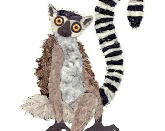 Ring-tailed Lemur (Art Print)