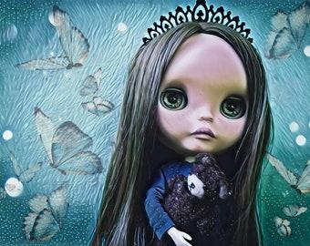 Custom Blythe doll Tea For Two ebl mold