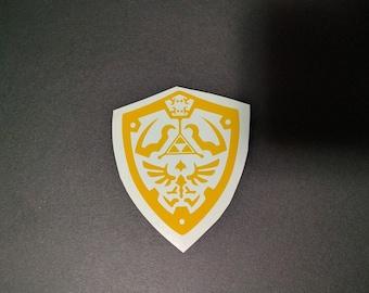 Zelda Hylian Shield Decal