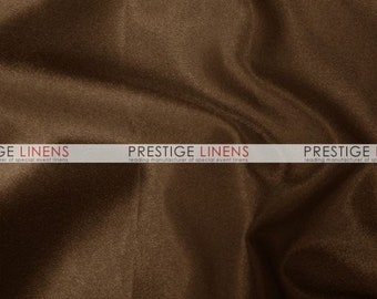 CLOSEOUT FABRIC - Crepe Back Satin (Korean)  Dress Apparel - Brown - 2.5 Yard