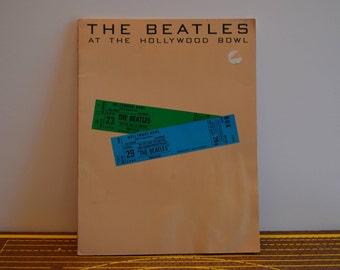 1977 The Beatles At The Hollywood Bowl Sheet Music Book
