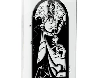 Hades Hercules Pain Panic Greek gods Disney villain greek mythology Greek Fates paper cut art silhouette FRAMED