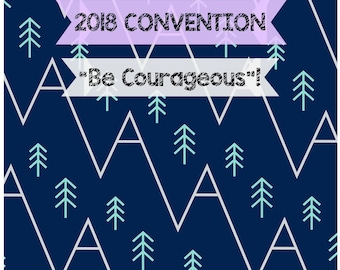 DIGITAL Be Courageous! 2018 Convention Adults Notebook JW Personal Use