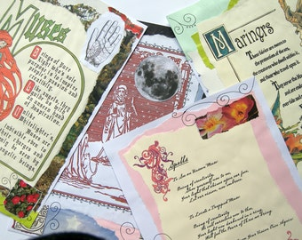 Spell Pages for your Book of Shadows (Digital Download) - REF 12