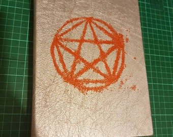 A5 hand bound journal