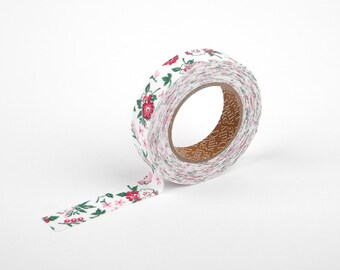 On Sale)) Adhesive Fabric Tape : Unaffected Red - Dailylike Canada