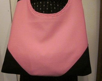 Pink, cross body bag, fully lined, inside pockets, washable, reinforced corners,made to last, comfort strap.