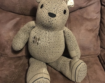 Memory Bear Keepsake made from your sweater