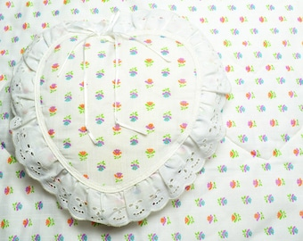 Baby Quilt with Heart Shaped Pillow Baby Bedding
