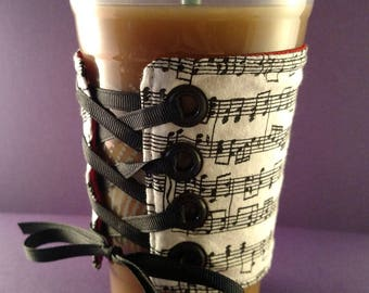Coffee Corset - Music Notes