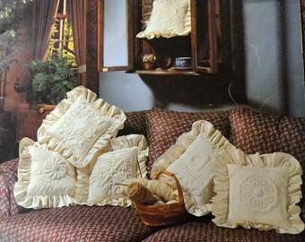 Vintage Pattern Book Sculpture Wicking