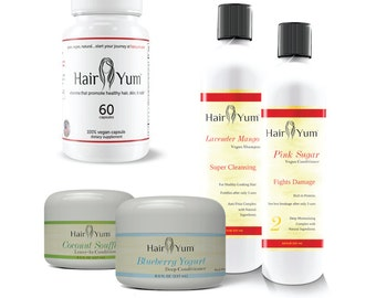 HairYum Collection Plus (all 4 products plus vegan vitamins)