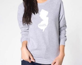New Jersey Roots or Made American Apparel Sweatshirt - Unisex Size S M L XL