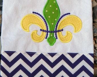 Mardi Gras Tea Towel