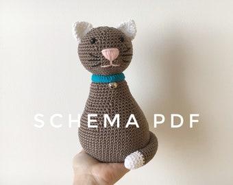 Totoro, Schema Amigurumi pdf con istruzioni dettagliate e foto ... | 270x340