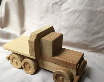 Wooden Toy Truck