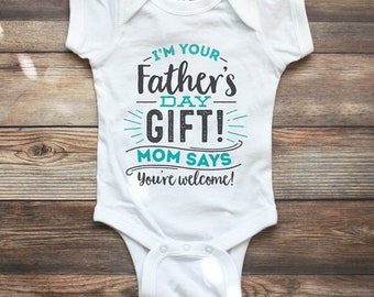 Fathers Day Gift from Baby Boy - Fathers Day Gift from Son - Fathers Day Shirt - Fathers Day Gift Ideas - 1st Fathers Day Shirt - Daddy Gift