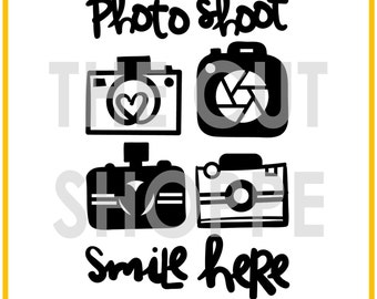 The Snap to It cut file set includes 6 camera themed icons, that can be used for your scrapbooking and papercrafting projects.