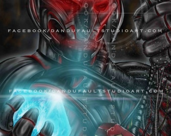 """Ultron: Avengers Age of Ultron 'No Strings on Me' 11x17"""" Artist Signed Print"""
