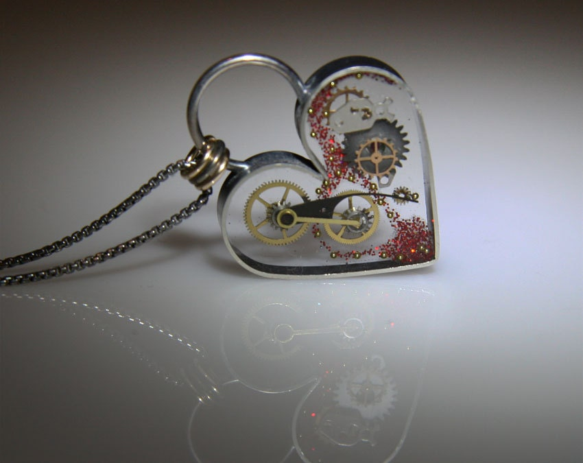il necklace steampunk listing fullxfull clockwork zoom heart