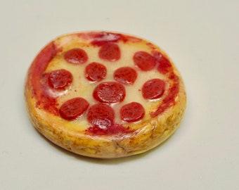 Pepperoni PIZZA Dollhouse Miniature 1:12 Scale