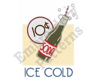 Ice Cold - Machine Embroidery Design