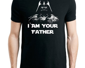I Am your father men's Fathers day t-shirt - STAR WARS Themed Birthday Gift