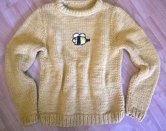 Bee And PuppyCat Sweater handmade