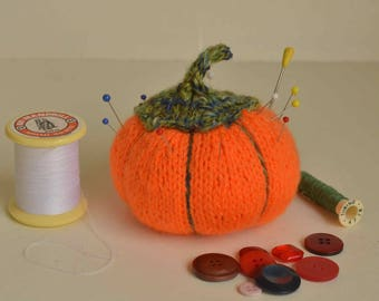 Miss orange Halloween pin cushion