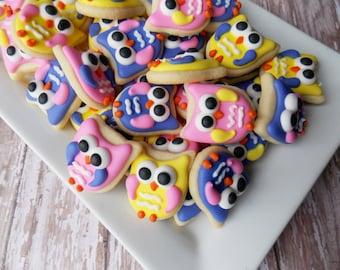 Mini Owl Cookies