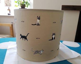 Cat lampshade 20cm