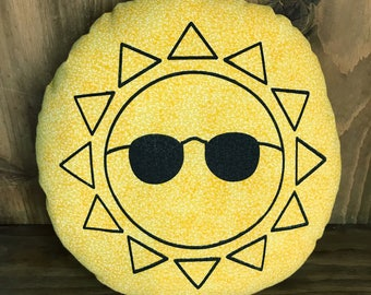Cool Guy Sunshine Pillow