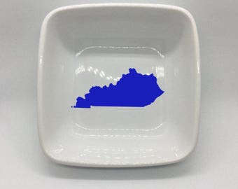 Kentucky Square Jewelry Dish