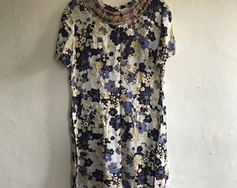 Vintage 60's Tunic Dress Size 12