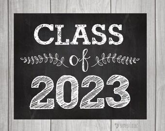 Class of 2023 - Back to School - Teacher Signs - First Day of School Sign- Teacher Signs
