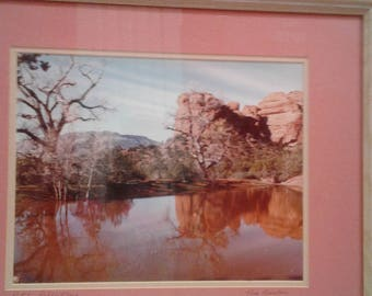 "Vintage Color  Photograph  Titled "" Pataki  Reflections"" by Tom Freuler"""