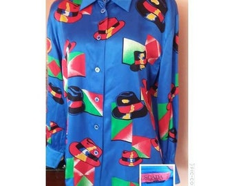 80s Escada Made in Germany blouse S/M