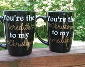 Grey's Anatomy Best Friend Mugs