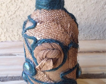 Unique Handmade Golden Vase Decoration