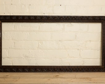 Antique Picture frame, wonderful carved picture frame, art, wall art, home decor, country home or contemporary, wedding