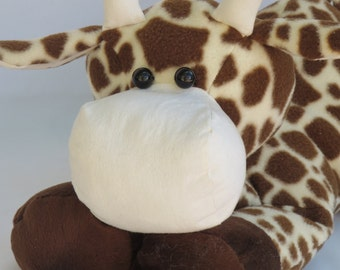 handmade plush giraffe